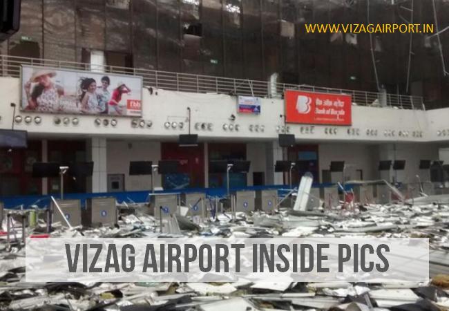 VIZAG AIRPORT INSIDE PICS