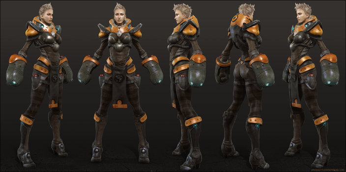 SCI FI FUTURISTIC CONCEPT ARMOR AND COSTUMES - PART 1