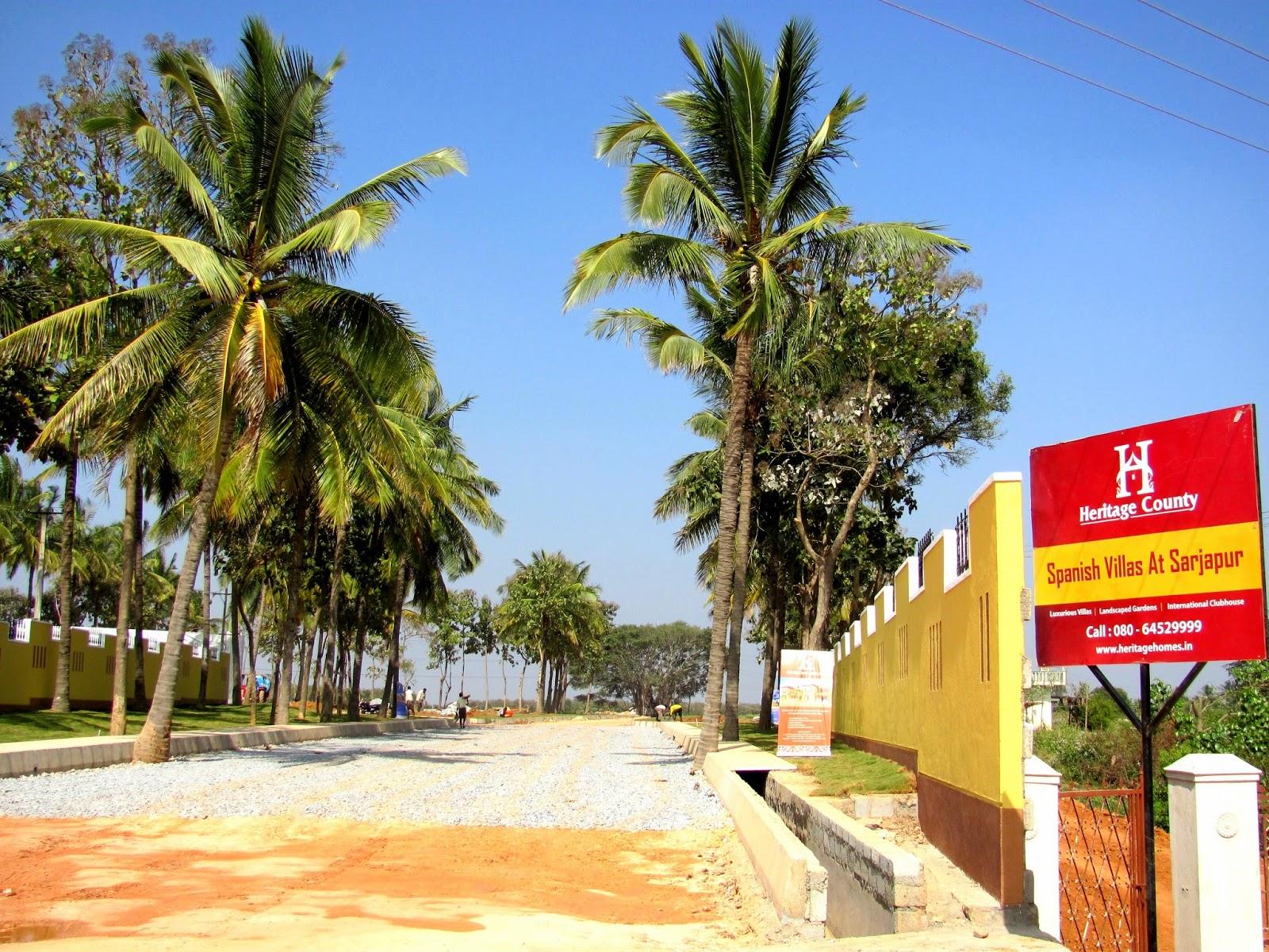 Luxury villas off sarapur road bangalore