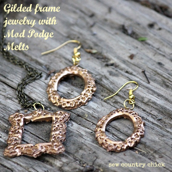 Mod Podge Melts Jewelry