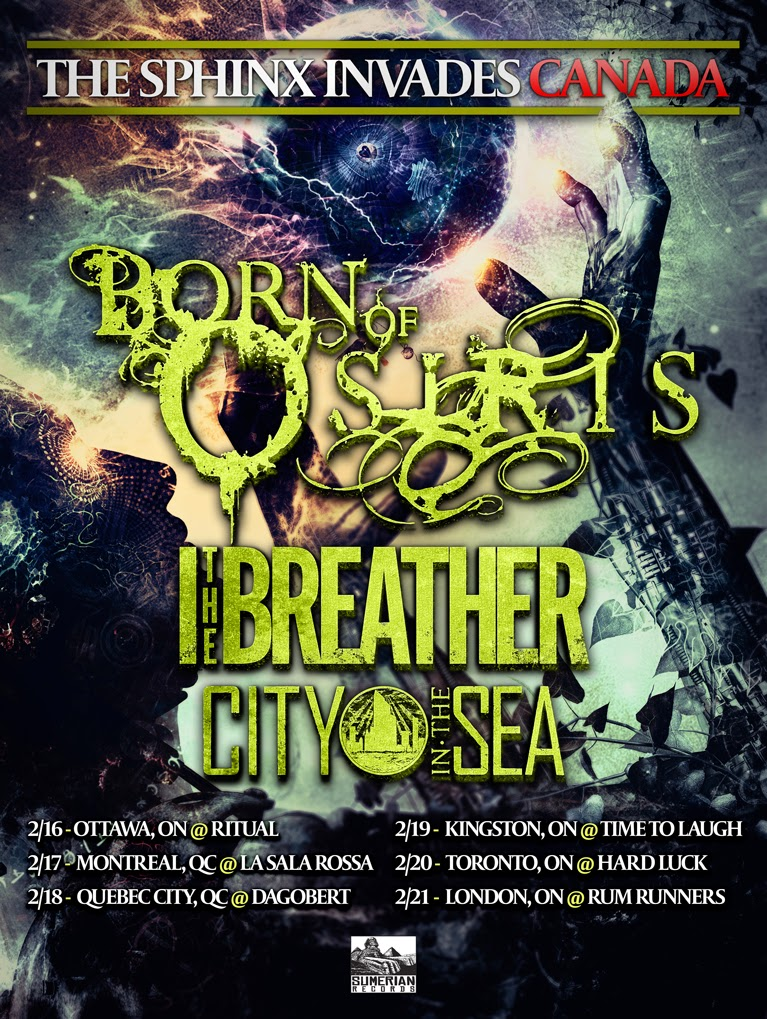 Born Of Osiris @ St Catharines