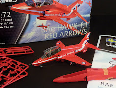 Red Arrows in 72nd- Building RAF's finest on a tight budget with Revell's Hawk T.1 Red Arrow kit.
