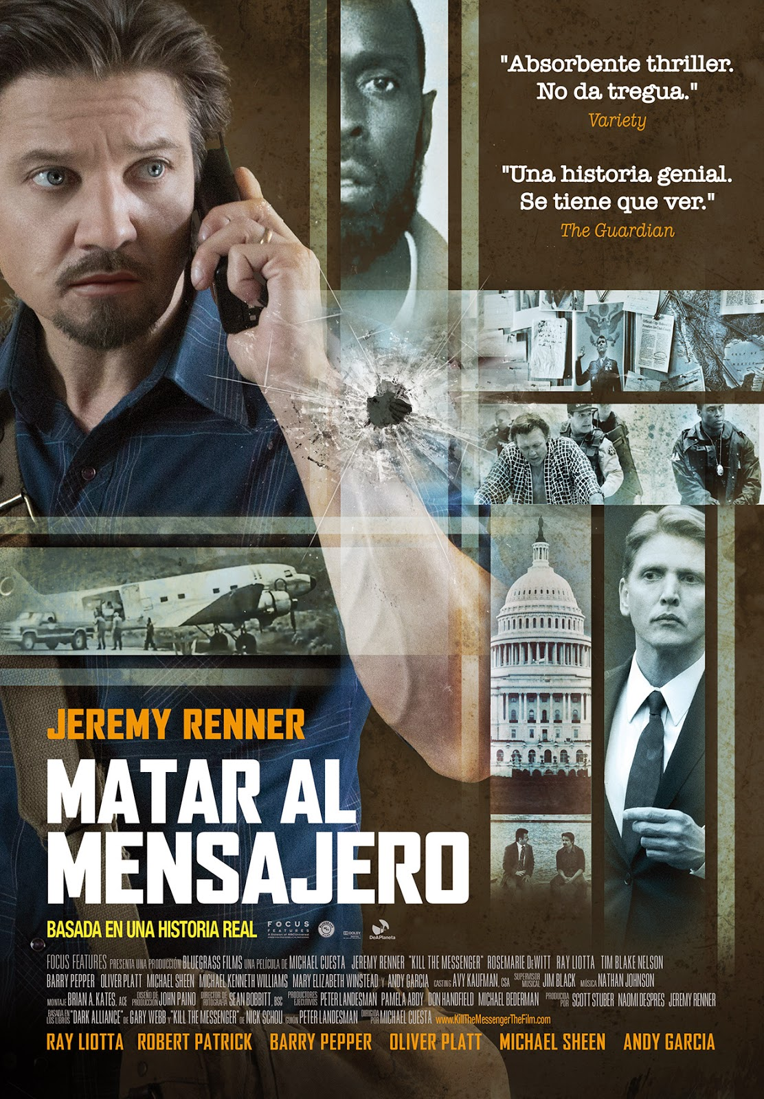 Matar Al Mensajero: Kill the Messenger (2014)