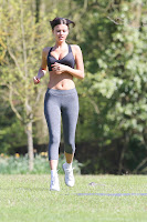 Lucy Mecklenburgh hot in tights and black top