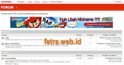 Gemscool forum indonesia