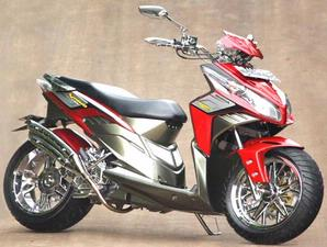 foto modifikasi honda supra x 125 new foto modifikasi motor honda