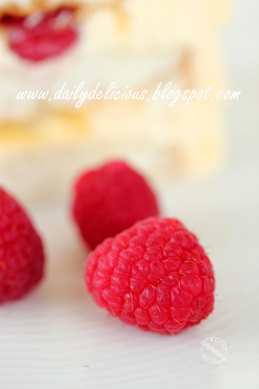 Flour Bakery Lemon Raspberry Cake