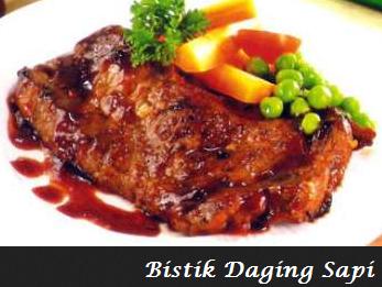 Resep Cara Membuat Bistik Daging Sapi Enak dan Bergizi