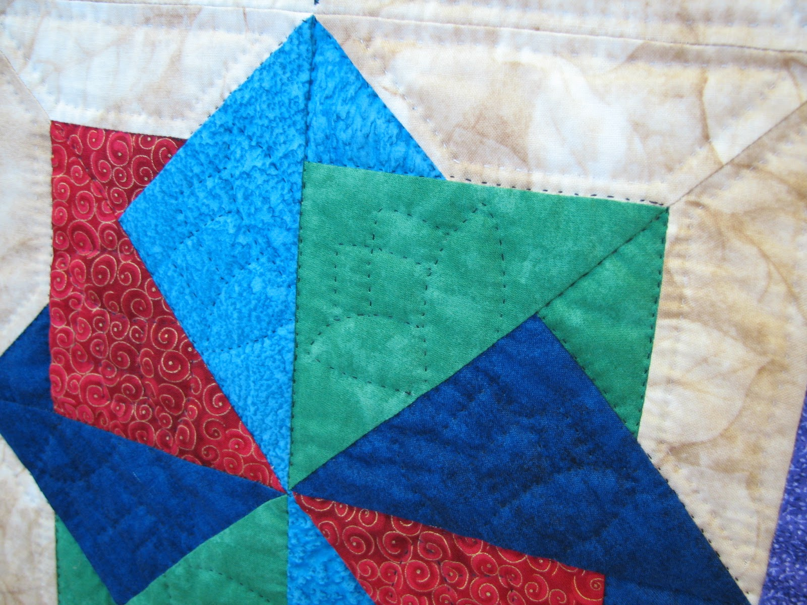 Quilting Pattern Card Trick Block : Such a Sew and Sew: We Went to a Quilt Show. Because I Said So.