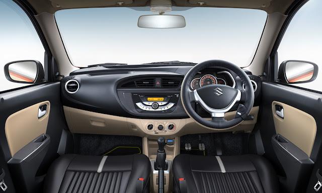 Maruti Suzuki Alto K10 Urbano Limited Edition Interior