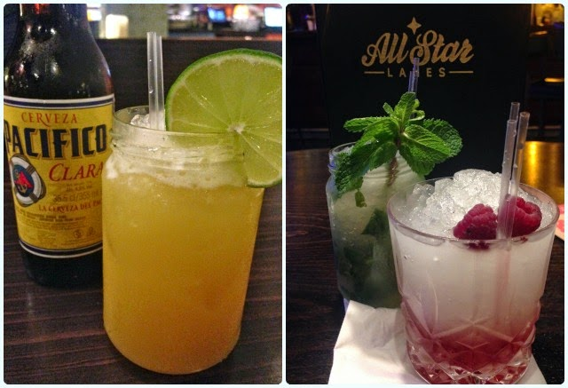 All Star Lanes, Manchester - Drinks