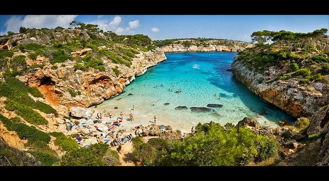 Calas en Mallorca (Islas Baleares)