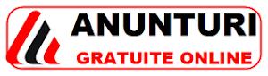 ANUNTURI GRATUITE