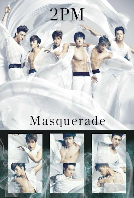 2PM Masquerade Poster