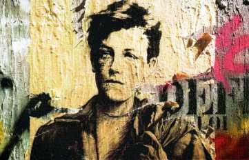 Rimbaud in modern dress