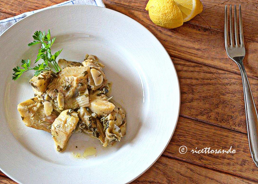 Carciofi trifolati ricetta contorno di verdura base per altre ricette