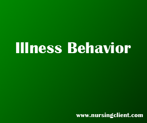 Illness behavior