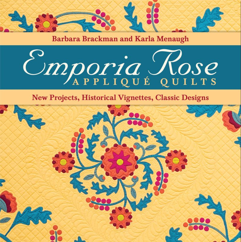 EMPORIA ROSE: Applique Quilts
