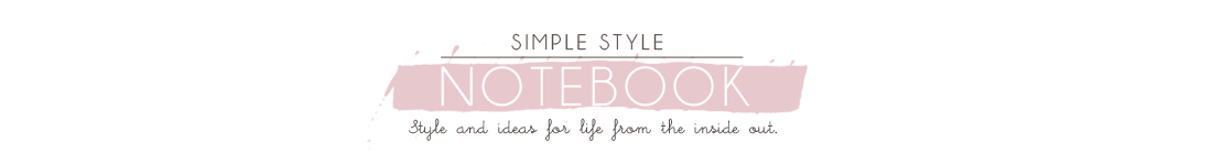 Simple Style Notebook