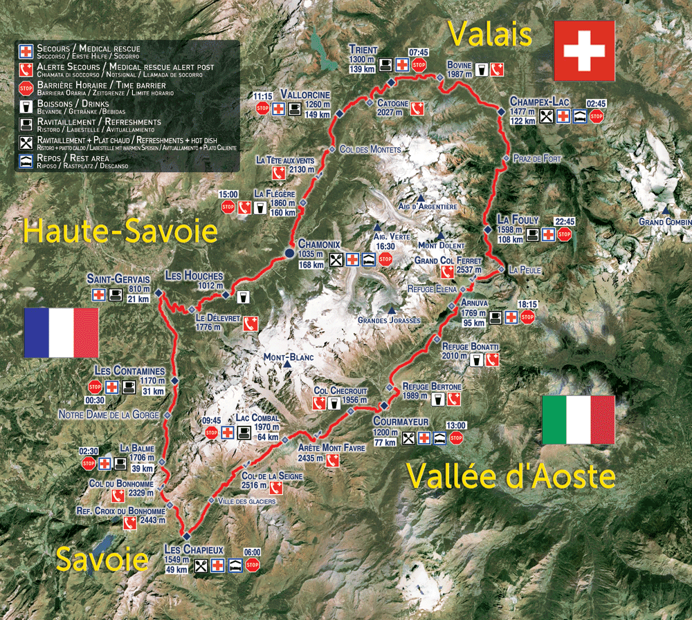 Mont Blanc UTMB