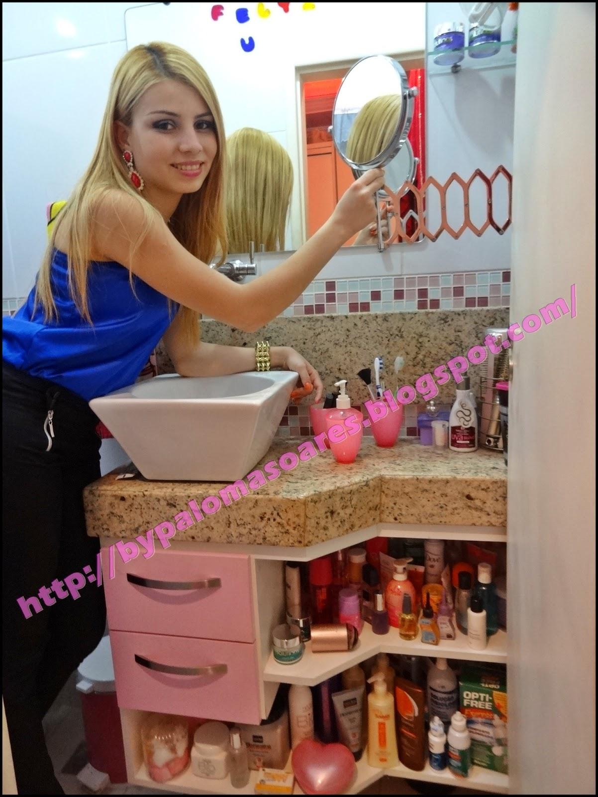 #0F2074  : Tour pela minha suíte (Quarto   Banheiro) Paloma Soares 1202x1600 px tour pelo meu banheiro com banheira