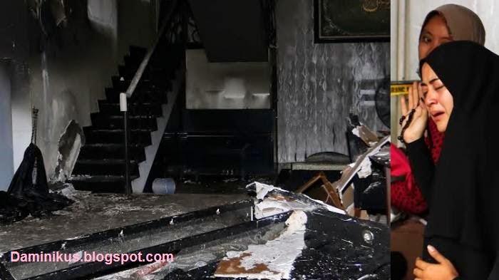 Rumah Almarhum Ustaz Jeffry Al Buchari Ternyata Sengaja Dibakar dan Inilah Motifnya