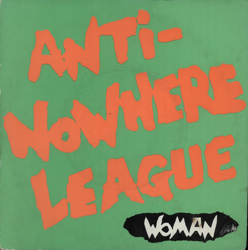 disco ANTI-NOWHERE LEAGUE - Woman