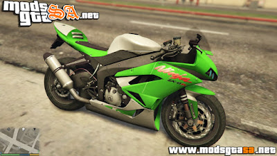 V - Kawasaki Ninja ZX-6R para GTA V PC