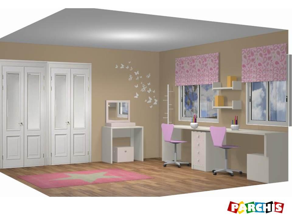 Diseo de dormitorios infantiles amazing dormitorios infantiles disecbo almeria compartidos - Dormitorios juveniles almeria ...