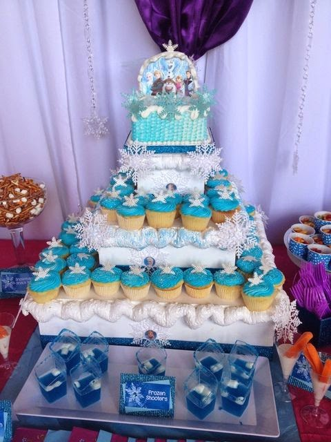 Loverbugs Mommy Frozen Themed Birthday Party Ideas