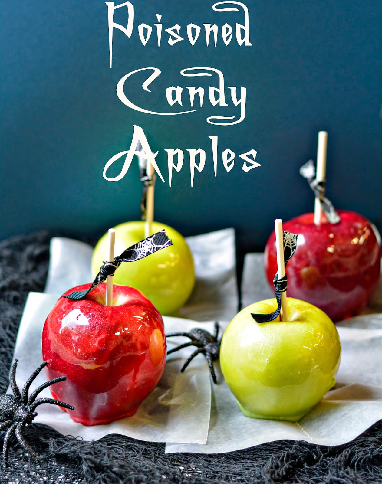 Jolly Rancher Candy Apples