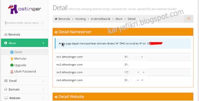 9 Lihat IP atau name sarver dan IPnya (karyafikri.blogspot.com)