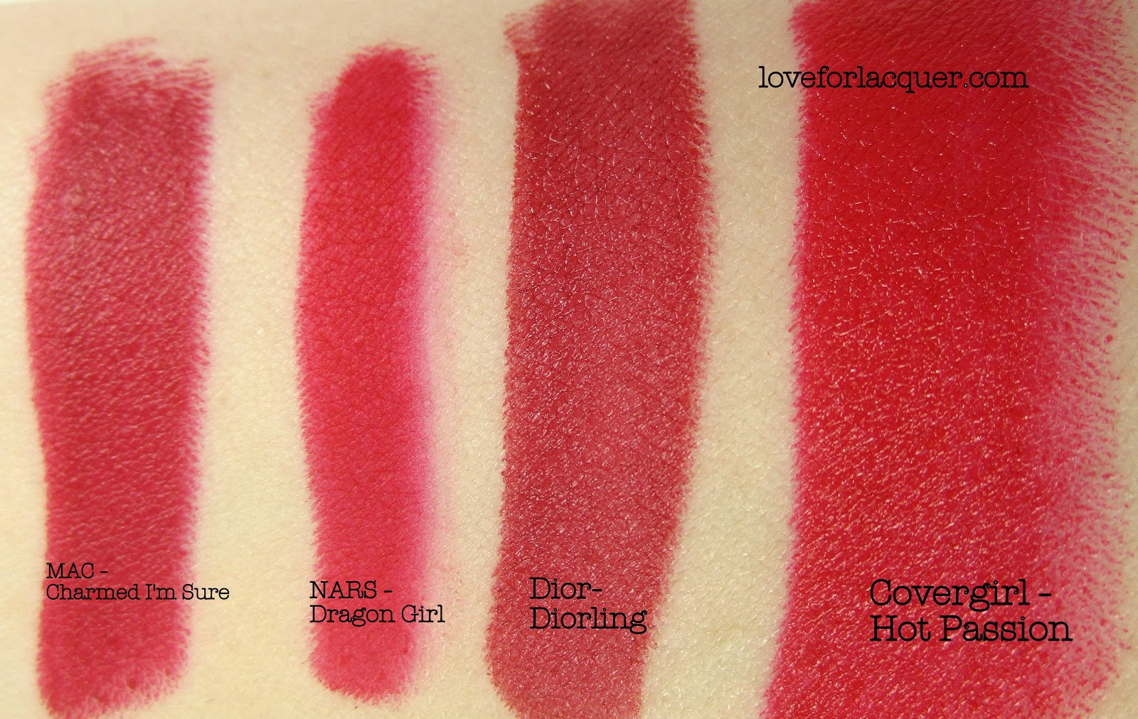 Nars Jungle Red Lipstick Top 10 RED Lipsticks -...