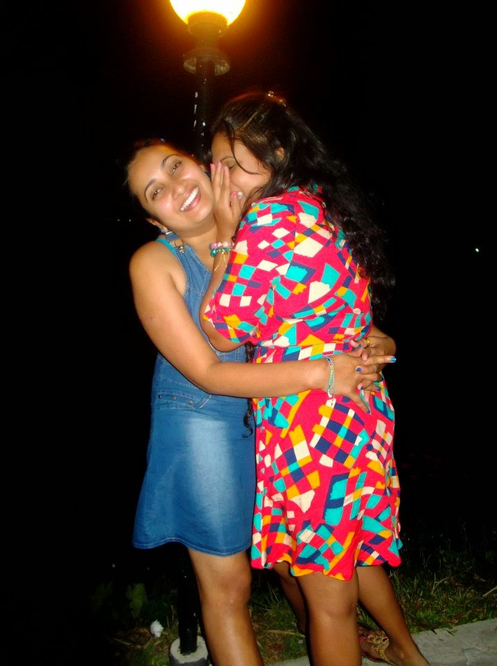 madhu nithyani and anjali hug