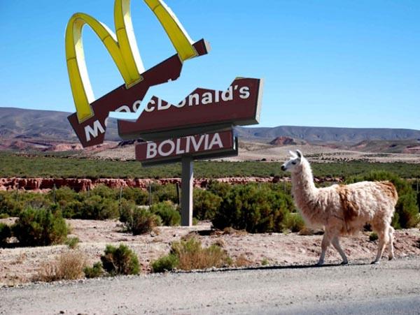 macdonalds bolivia