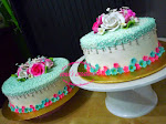 Kek Kahwin 2 tier (Buttercream) - dari RM175.00