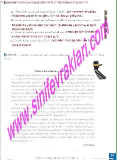 8.Sinif Turkce Enderun Yayinlari Calisma Kitabi Cevaplari Sayfa 19