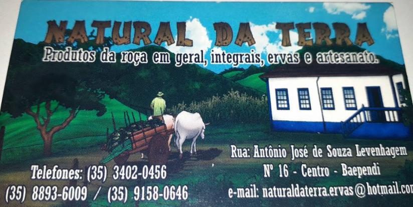 VISITA A LOJA NATURAL DA TERRA DE BAEPENDI.