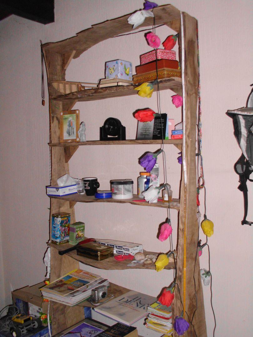 Franse kaaskop: oud hout