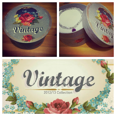Vintage gift box Balagan jewellery