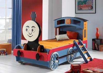 cama diseño tren
