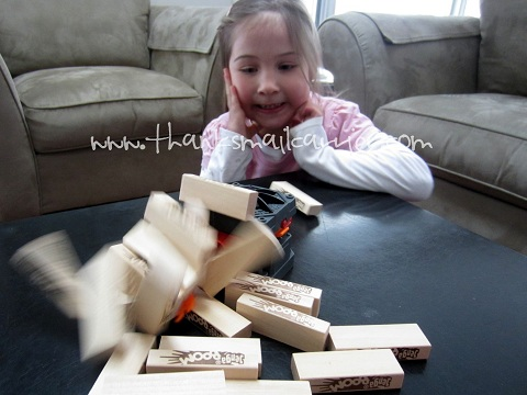 playing Jenga Boom
