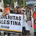 Dukung Palestina, PKS Berau Lakukan Aksi Long March dan Galang Dana