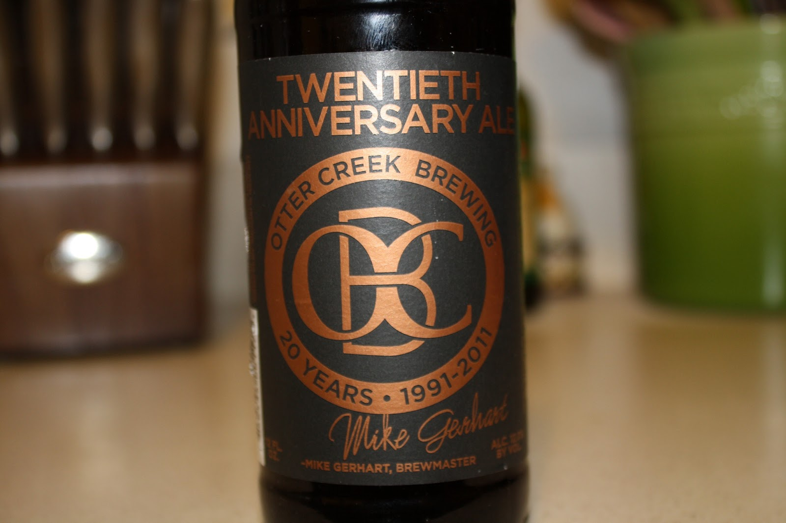 Otter Creek Brewing Twentieth Anniversary Ale