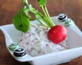Easy Radish Spread (above)