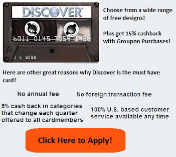 Discover Card $50 Cashback Bonus after First Purchase in the first 3 months!