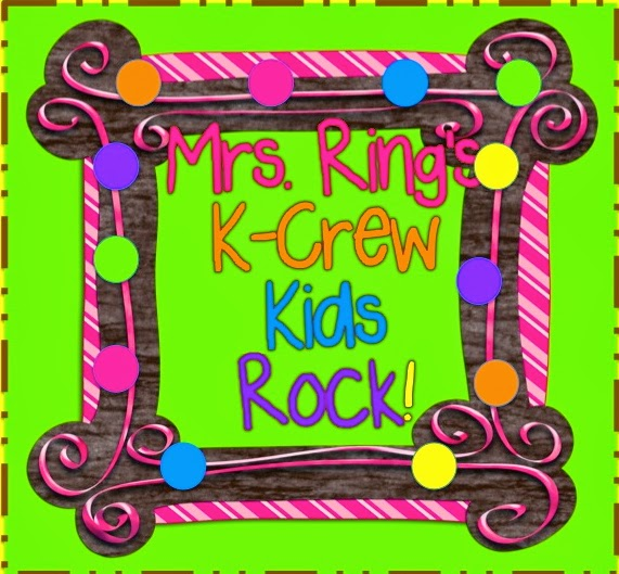Mrs. Ring's  K-Crew Kids Rock!!