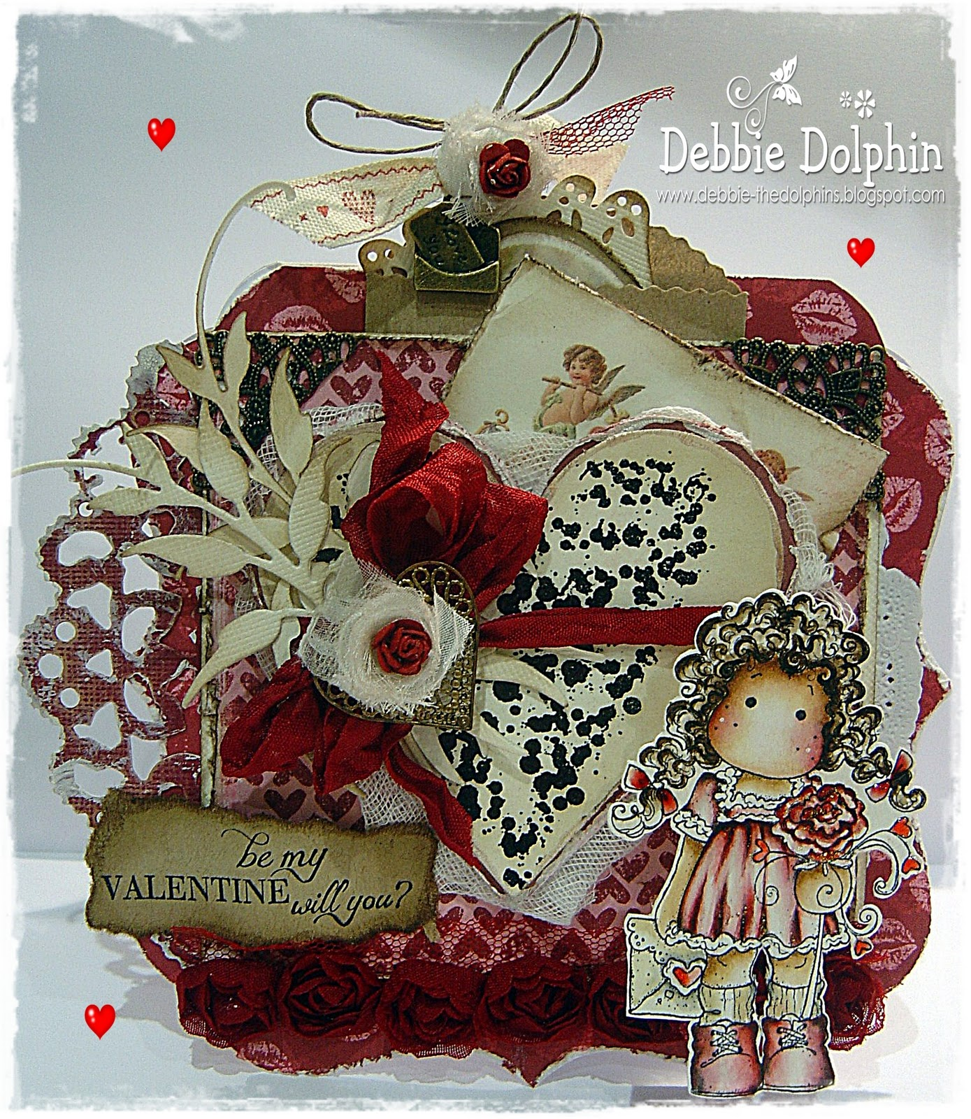 Magnolia Cards By Debbie Love Letters Straight From Your