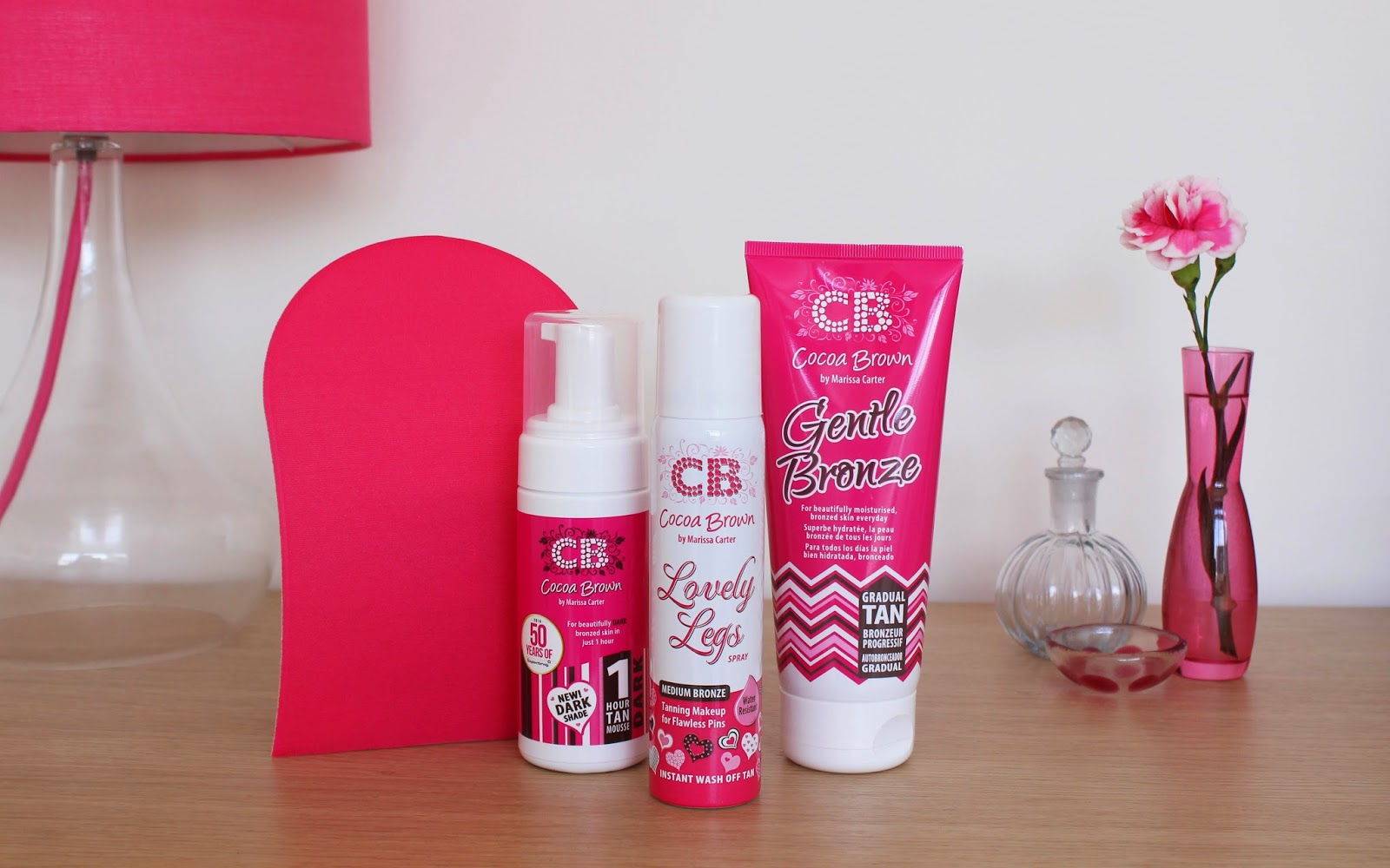Cocoa Brown 1 Hour Dark Tan, Gentle Bronze and Lovely Legs Review