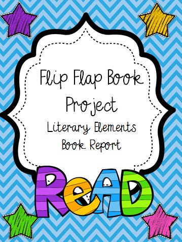 book report book cover project